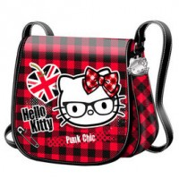 BOLSO HELLO KITTY PUNK