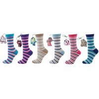 CALCETINES RAYAS COLORES  (36-41)