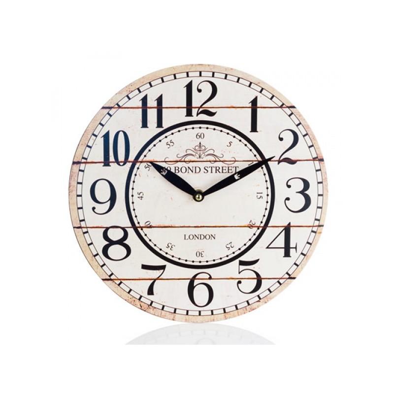 Reloj pared vintage 30cm rgala for Reloj pared retro