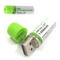 PILA RECARGABLE - USB       2UDS