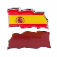 PEQATINA  PARA COCHES BANDERA ESPAÑA