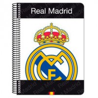 CUADERNO A/5 REAL MADRID 80HJ