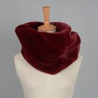 Bufanda Cuello - Rojo Vino