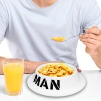 Plato Desayuno Papá