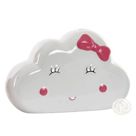 Hucha Nube Blanca