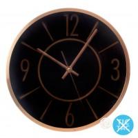 Reloj Pared Negro