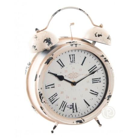 Reloj Despertador Retro Rosa