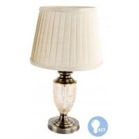 Lámpara Cristal Bronce