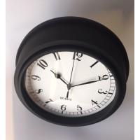 Reloj Pared Estación Negro