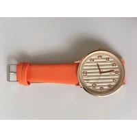Reloj Líneas Naranjas