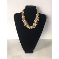Collar Bolitas Oro