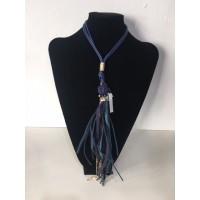 Collar Borlón Azul