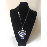 Collar Arco Iris Azul