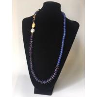 Collar Oro Azul