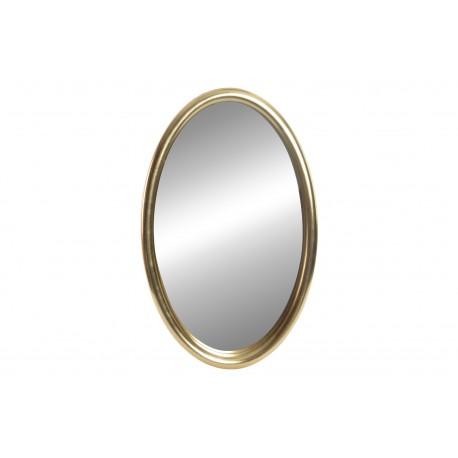 Espejo Dorado Oval