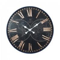 Reloj Pared Mapamundi