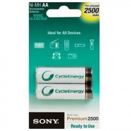 Pilas Recargables Sony AA