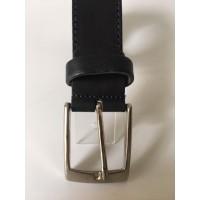 Cinturón Piel Negro Basico