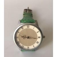 Reloj Verde Vintage