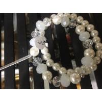 Pulsera Cristal Perla 2