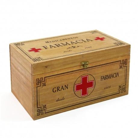 Caja Madera Botiquín