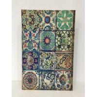 Caja Libro Seda Verde XL