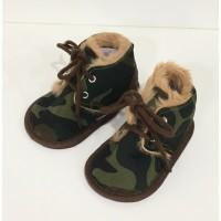 Zapatillas Bota Bebé Camuflaje