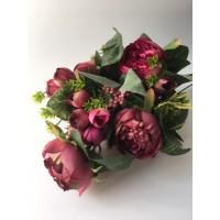 Flor Ranúnculo Ramo Rosa