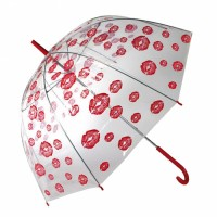 Paraguas Labios Rojos