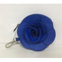 Monedero Flor Azul