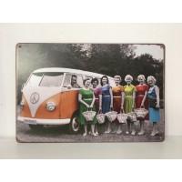Placa Volkswagen