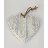 Ambientador Corazón Blanco