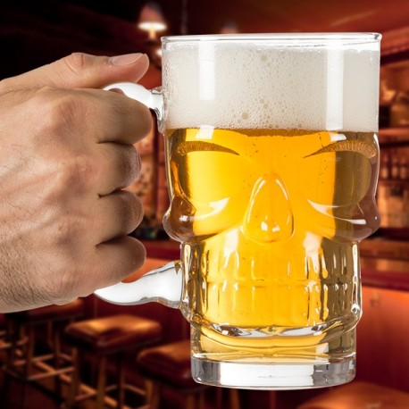 Jarra Cerveza Calavera