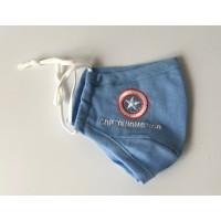 Mascarilla Capitán América Cielo