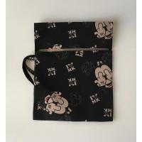 Bolsa Mascarilla Black Mickey