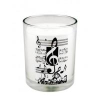 Vela Aromática Música
