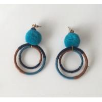 Pendientes Blue