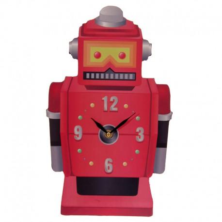 Reloj Pared Robot