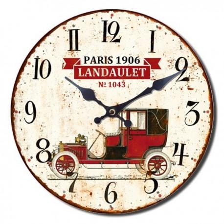 Reloj Pared Coche