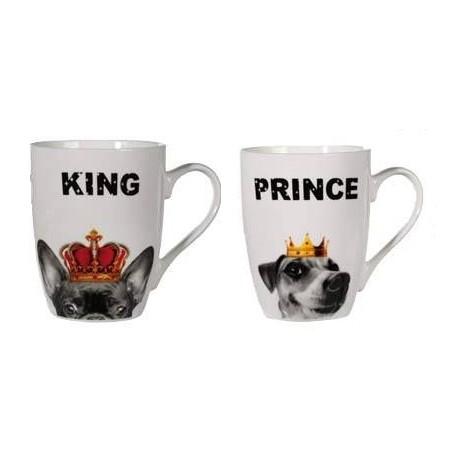 Taza Perro King