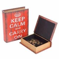 Caja Madera Keep Calm