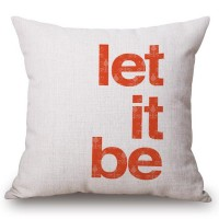 Almohada Let It Be