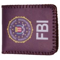 CARTERA FBI MORADA