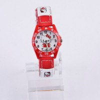 Reloj Infantil Hello Kitty Rojo