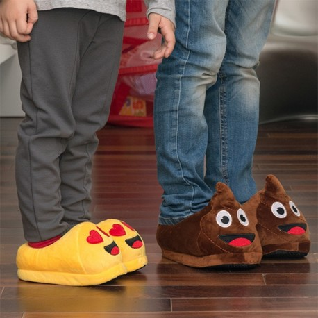 Zapatillas Emoticono Infantil