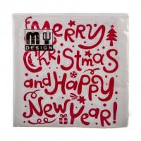 Servilletas Merry Chirstmas