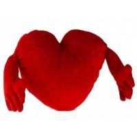 Almohada Corazón Rojo