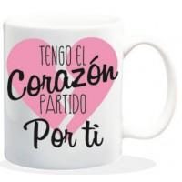 TAZA - TENGO EL CORAZÓN...