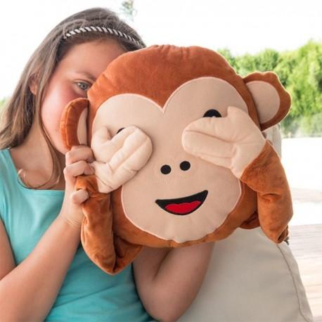 Almohada Emoticono Mono