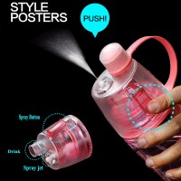 BOTELLA AGUA - BPA FREE SPRAY